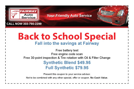 Front End Alignment Coupons >> Auto Service Oil Change Brakes Wheel Alignment